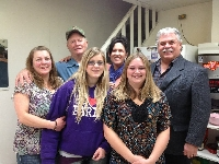 Great time hand by all at the fundraiser held in the Maymont Hotel. Pictured here Dawn Denise Gray, Grandpa Gray, Krista Dawn Gray, Jenna Gliddon, Alex Weekes and Myself. � in Maymont, Saskatchewan - Click on Image to enlarge